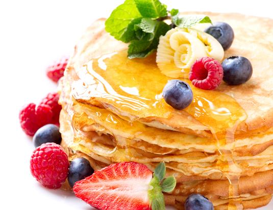 Hot cakes con proteína para perder grasa y ganar músculo