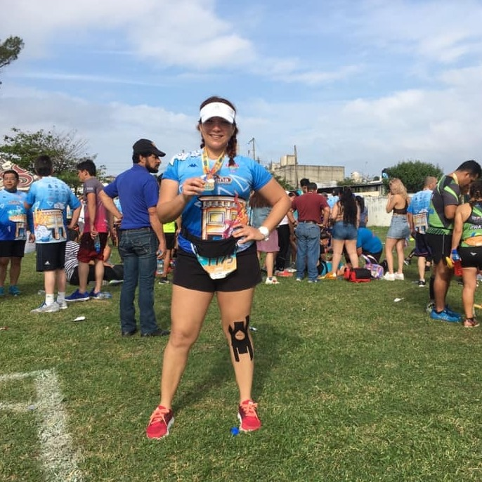 Correr me ha salvado en mis peores momentos: Sarahí Zamarripa